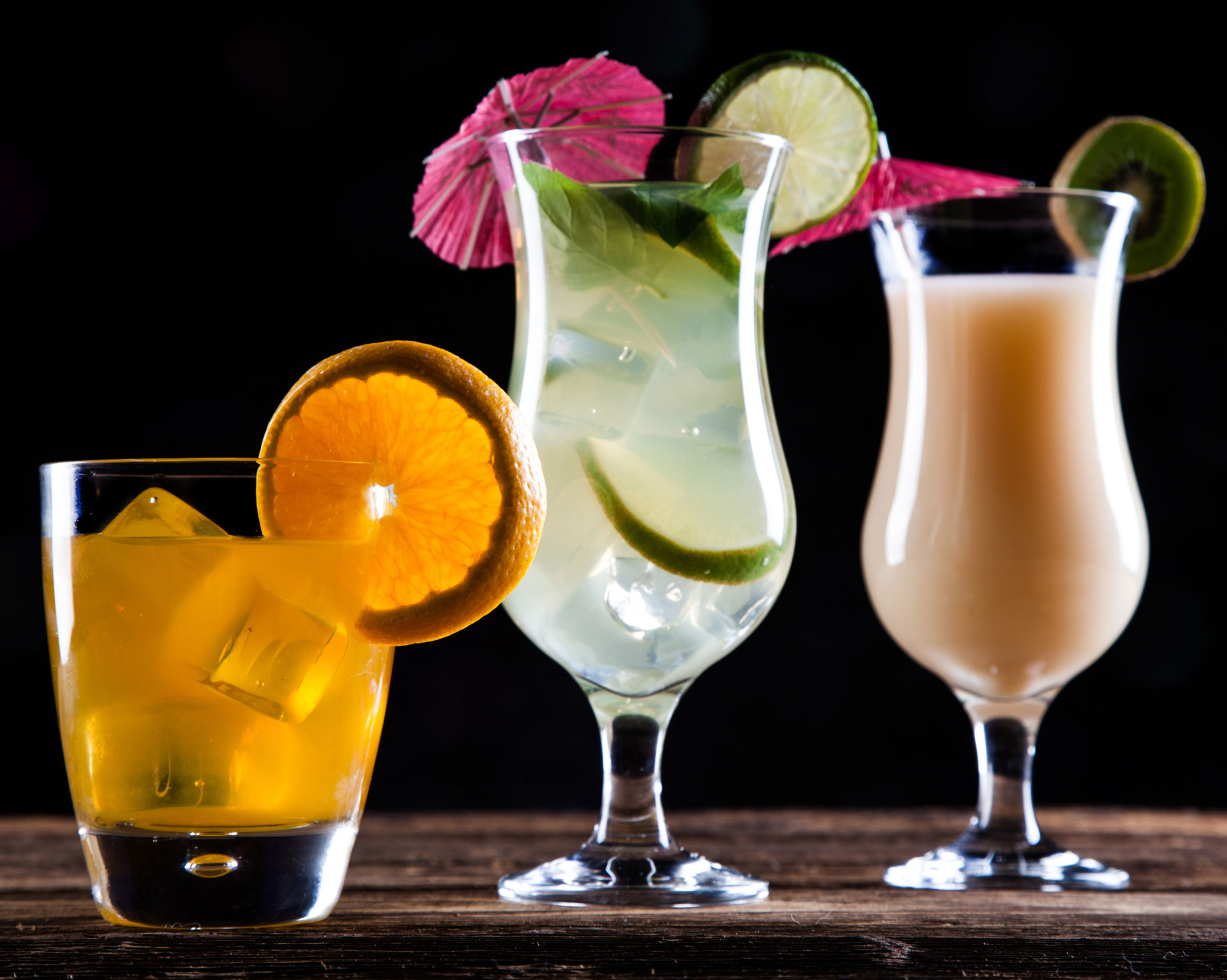 Cocktails and long drinks: more than pretty thirst-quenchers