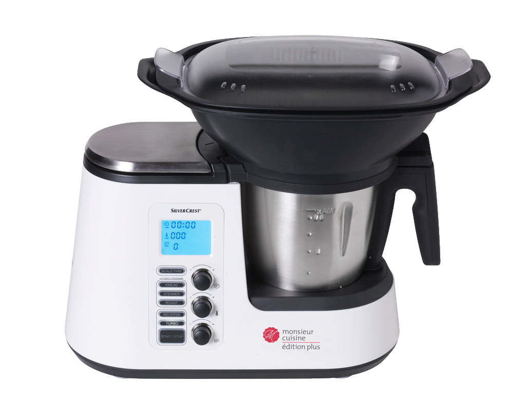 Steaming food with the Monsieur Cuisine édition plus